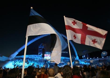 Eesti kõrvuti Gruusiaga